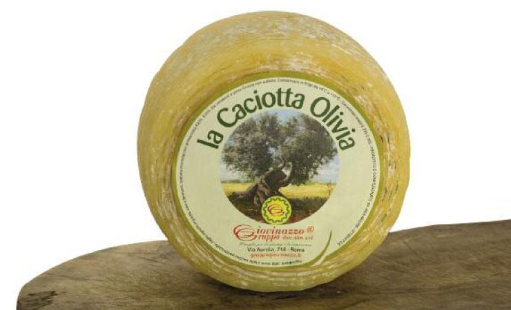 La caciotta olivia